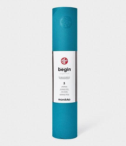 Manduka Begin yoga mat 5mm - Bondi Blue