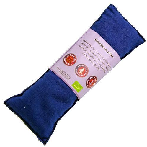 Oogkussen lavendel biologisch - blauw