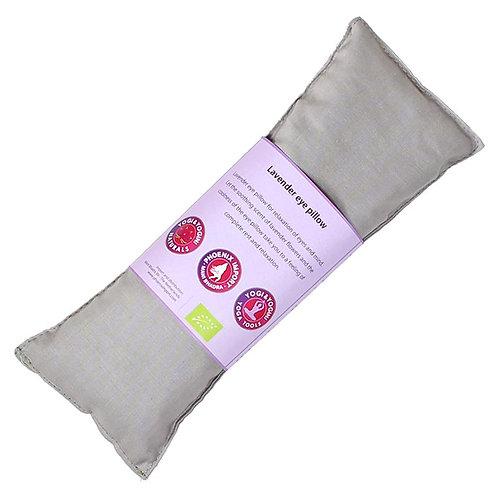 Oogkussen lavendel biologisch - taupe