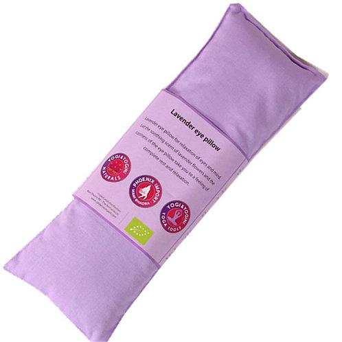 Oogkussen lavendel biologisch - violet