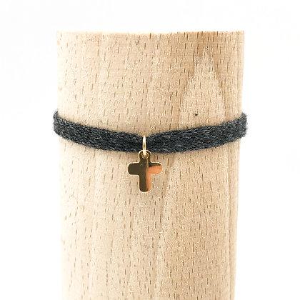 Bracelet Petit Baigneur Coton & Croix