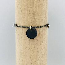 Bracelet Milady Sable Noir & Lien Mokuba