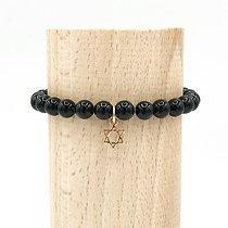 Bracelet Rive Doux Etoile de David Or