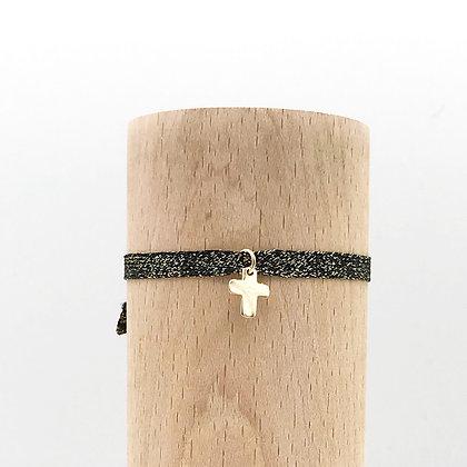 Bracelet Petit Baigneur Lurex & Croix