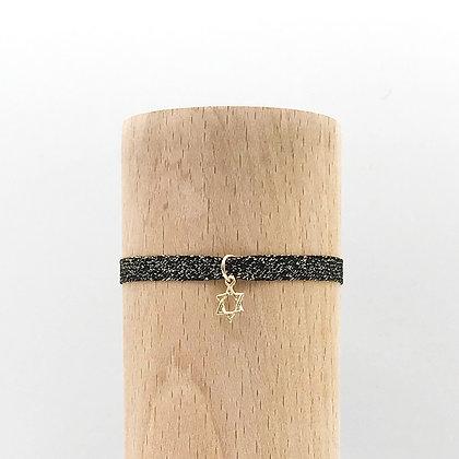 Bracelet Petit Baigneur Lurex & Etoile de David