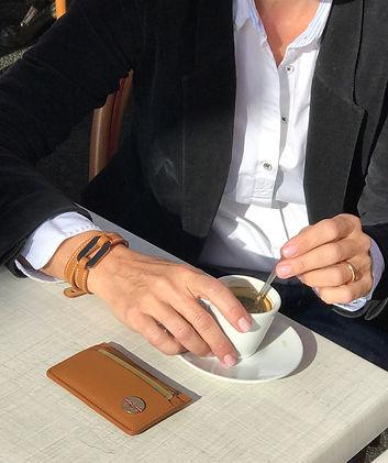 Bijoux Maison Joseph - Bracelet O de OceanSide Corne & Cuir