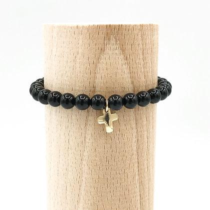 Bracelet Rive Doux Croix Or