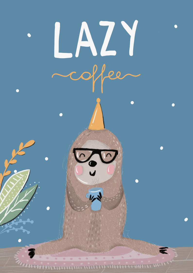lazy coffee