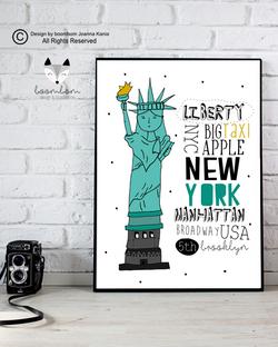 new york plakat