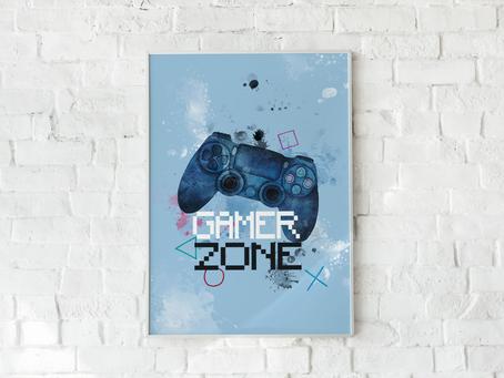Plakat GAMER ZONE - do pobrania