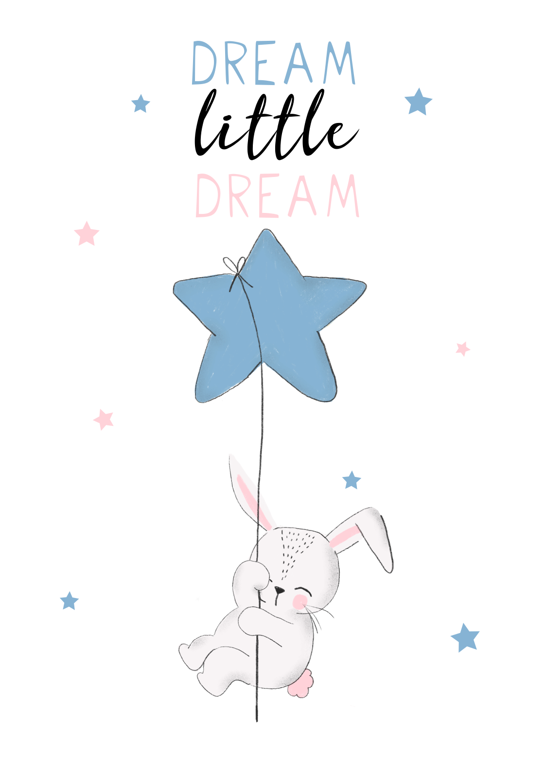 dream little dream A3