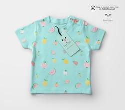 t-shirt owoce