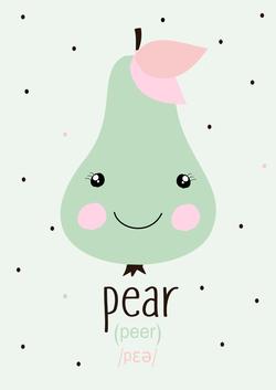 gruszka - pear