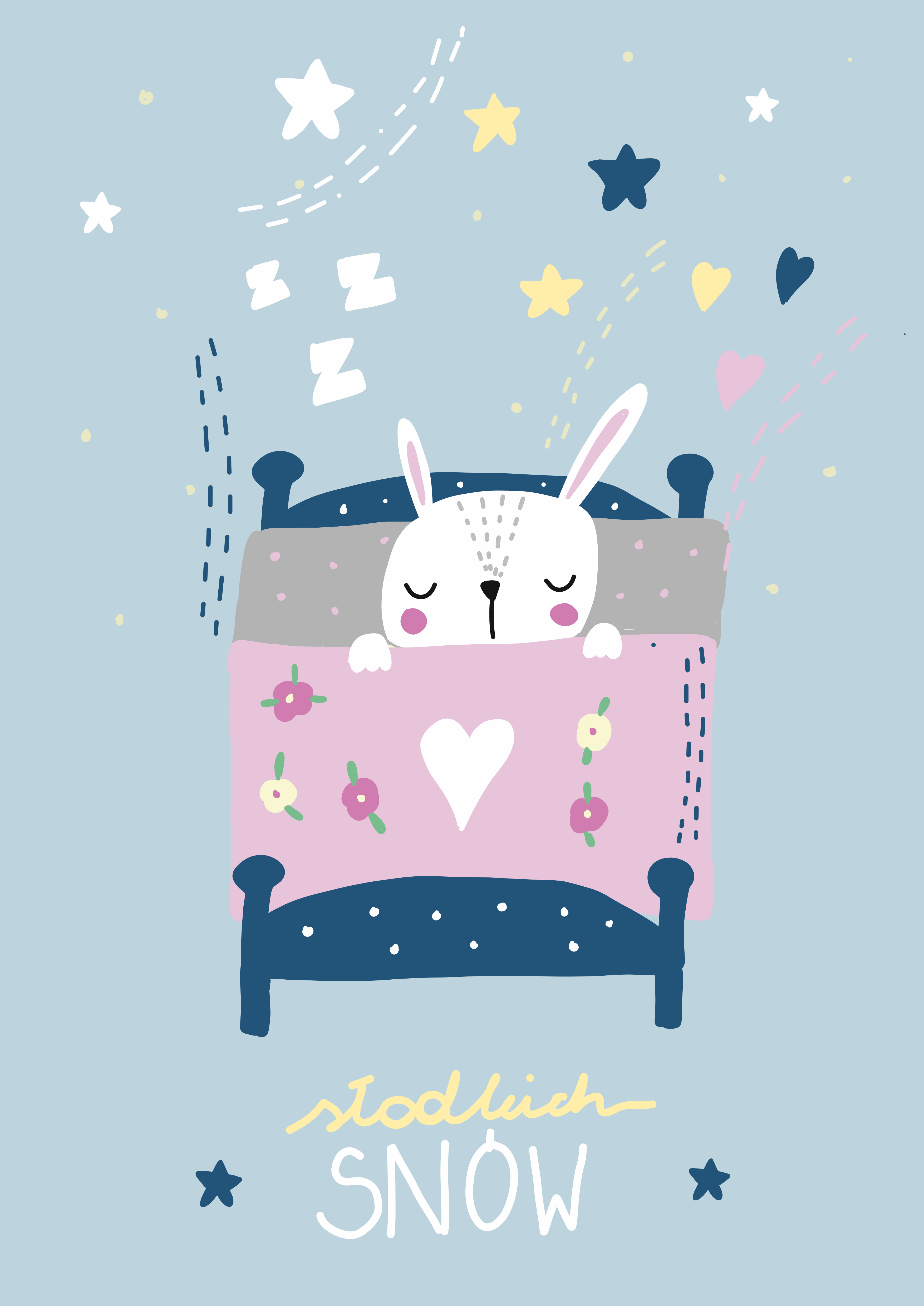 królik - słodkich snów