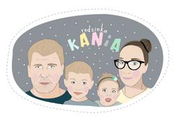 portret rodzinny Kania