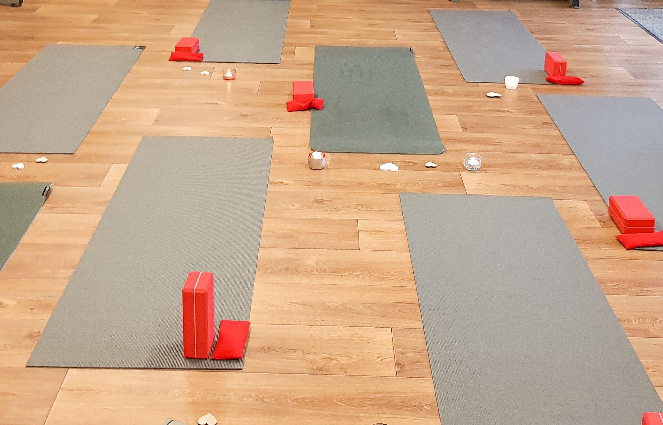 Yoga im Studio Anna