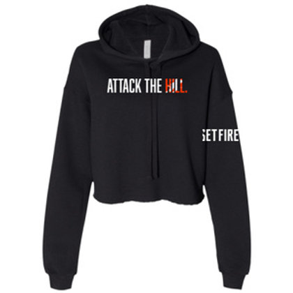 Attack The Hill Crop Hoodie