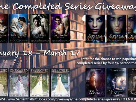 You could win 14 paperbacks!!