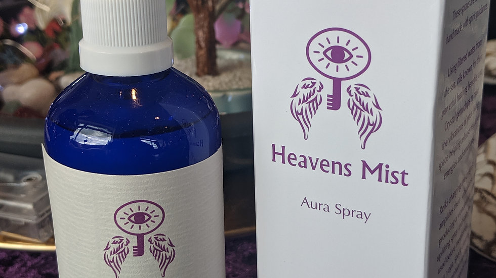Heavens Mist Aura Spray           ZEN  with Vetiver