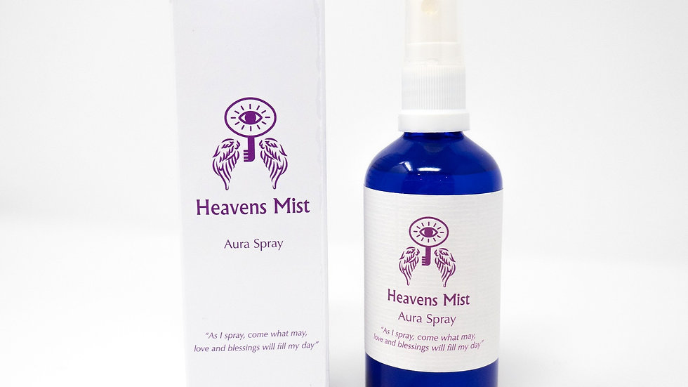 Heavens Mist Aura Spray Tranquility with Lavender & Rose
