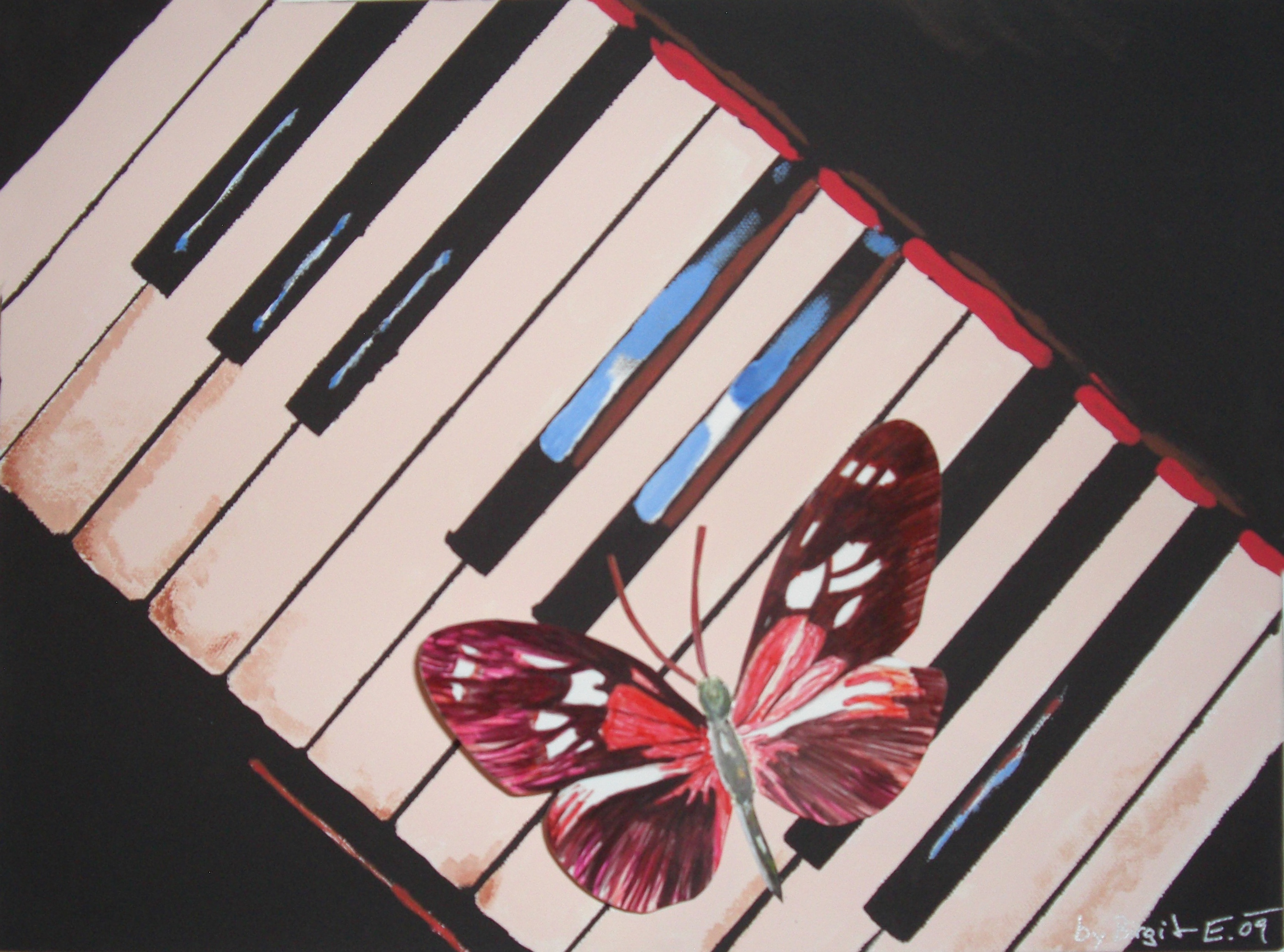 Butterfly-Piano