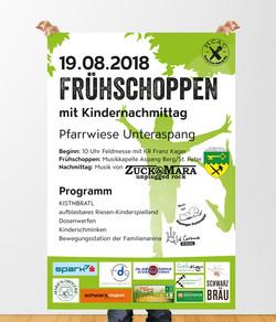 Frühschoppen-Plakat