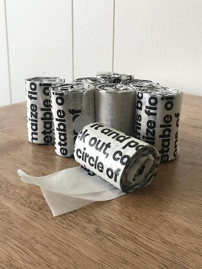 Dog Poop Bags, Roll of 15