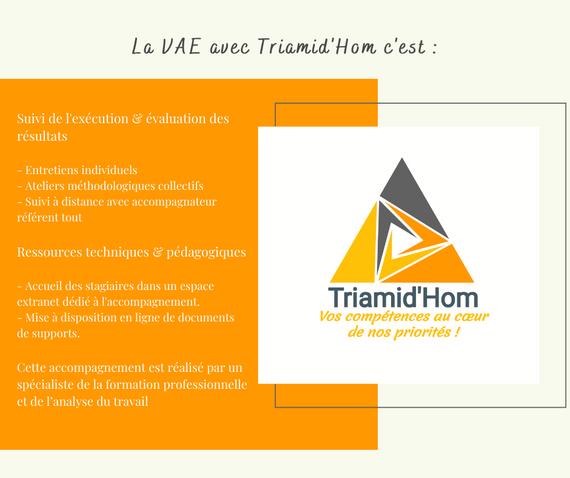 La VAE avec Triamid'Hom c'est