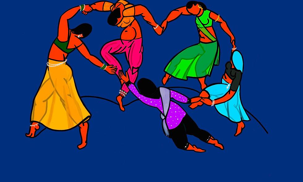 'La Danse Indienne' Print