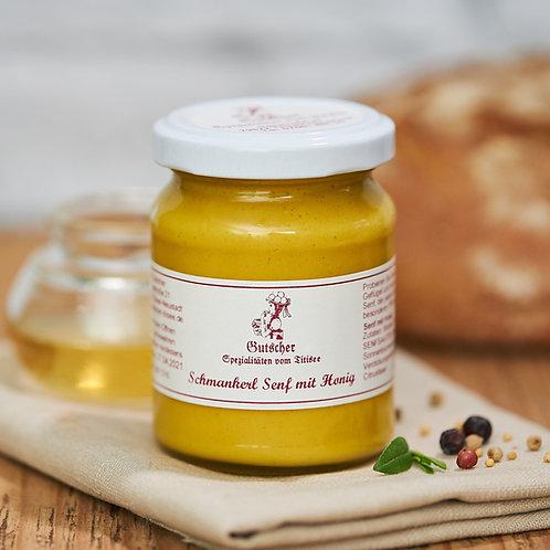 Schmankerl-Senf mit Honig, 130g