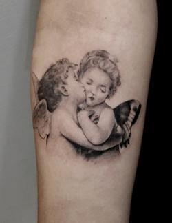 cherub tattoo