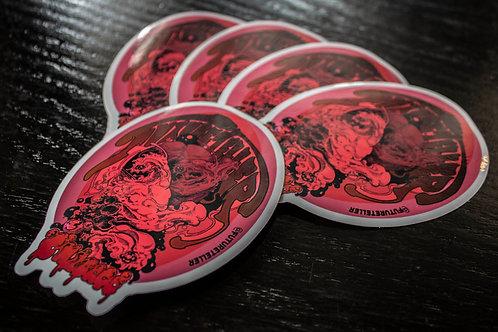 FutureTeller die cut vinyl sticker