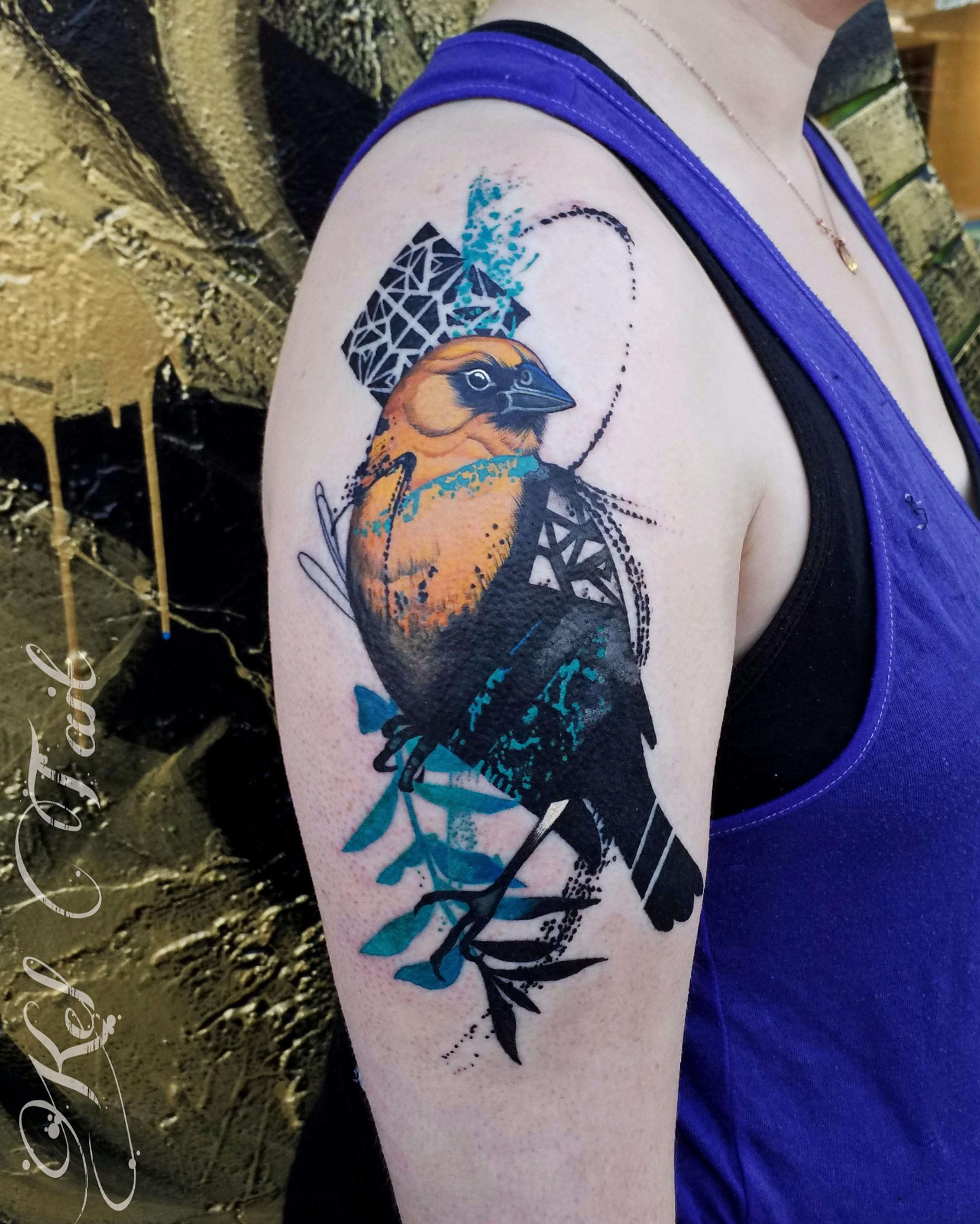 oriole tattoo