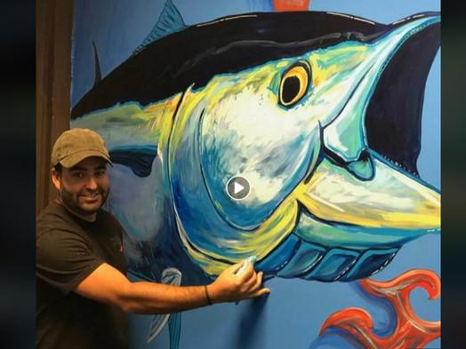 Marine Magic with a Paint Brush