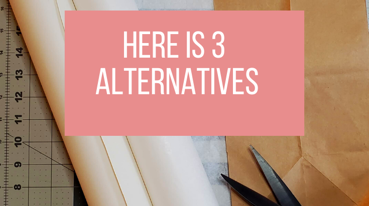 Don't have pattern paper? Here are 3 alternatives