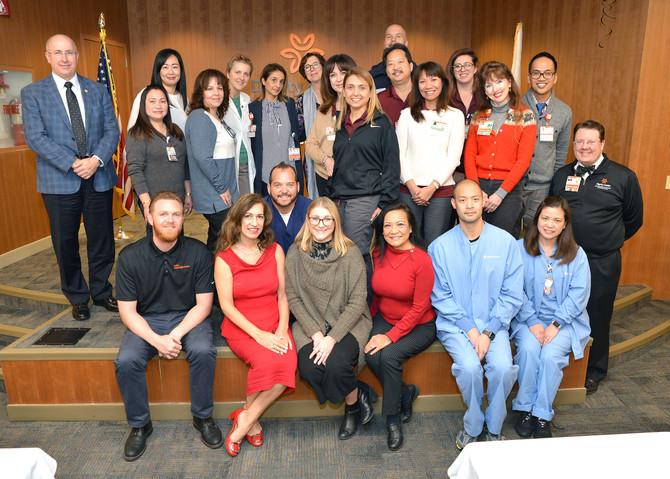 Dr. Douglas Thom, MD receives Dignity Health Guardian Angel Award