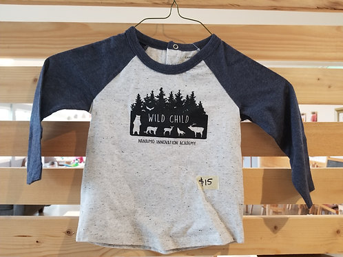 Child's Wild Child Baseball T- ONLY THIS STYLE