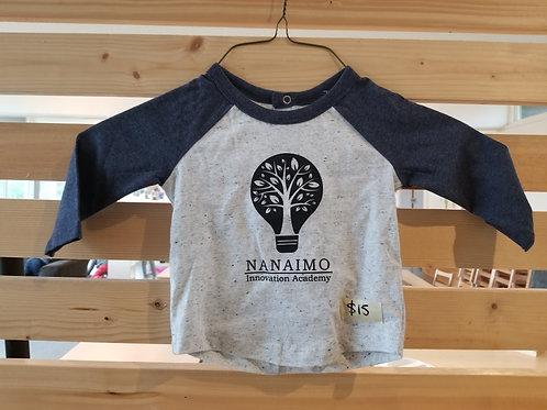 Child's NIA Logo Baseball T - ONLY THIS STYLE