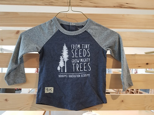 Child's Tiny Seeds Baseball T- ONLY THIS STYLE