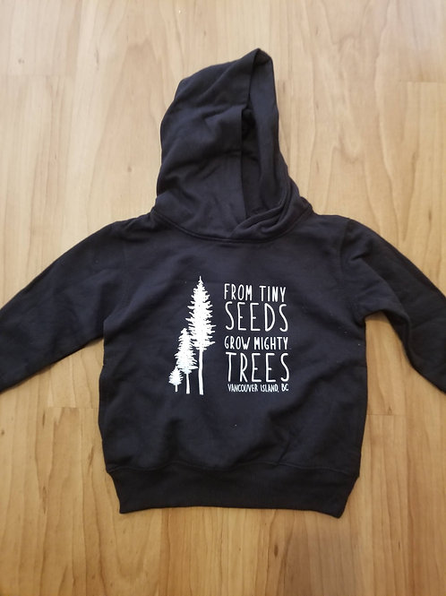 Child's Hoodie - Tiny Seeds Van Island (limited sizes and colour)