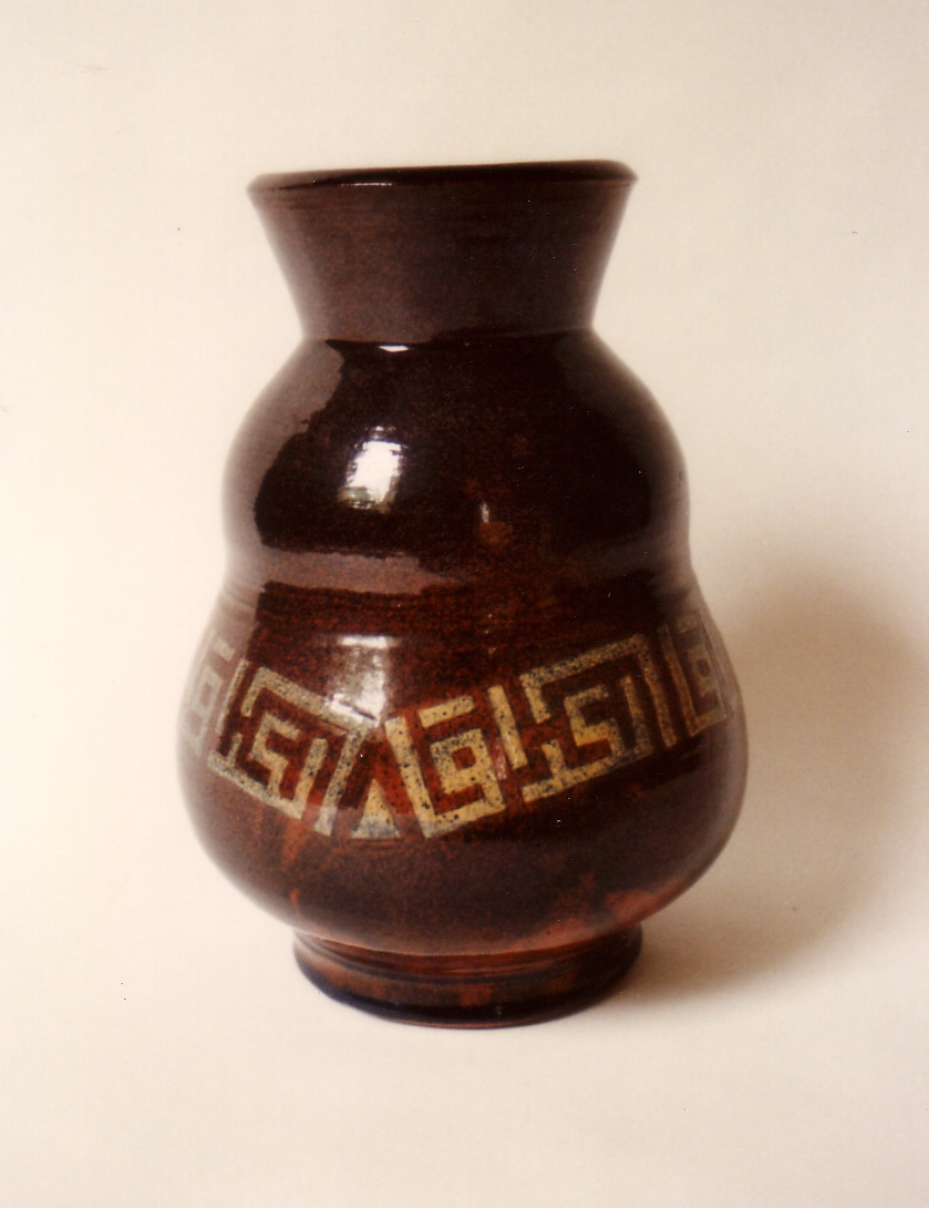 Vase with Calligraphy