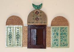 Eastern Doors with mirror