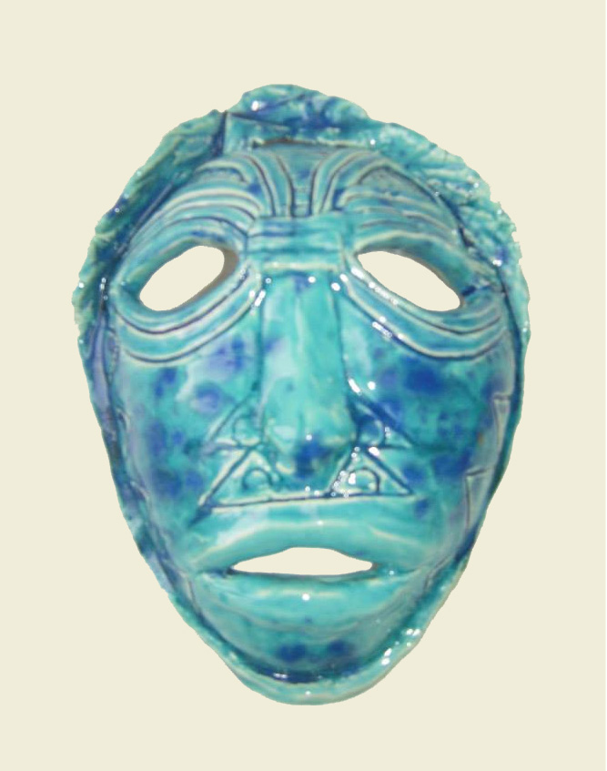Mask in Blue