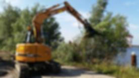 kaarsgrondverzet, kaars grondverzet, kelder uitgraven, tuin uitgraven, het materiaal, inhuren personeel, inhuren zzp, voorbelasting btw, aftrek voorbelasting, shovel huren, 8 tonner