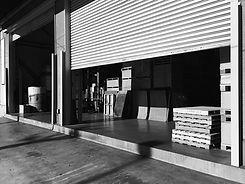 Roller door, commercial and industrial garage