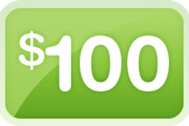 ONE - TIME DONATION OF $100