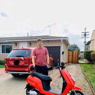 Happy Hollywood Zoom electric scooter cu