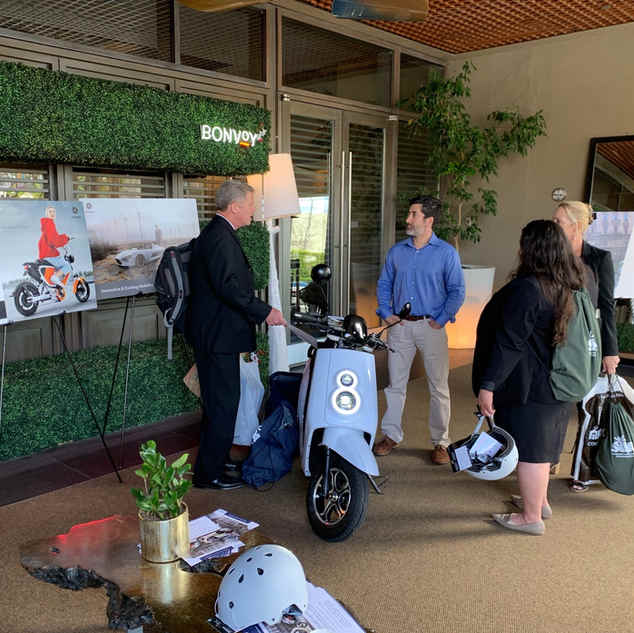 Zoom green award show in Santa Monica