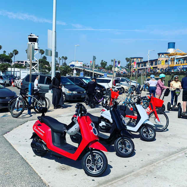 Zoom Electric Scooter Rental and Sharing program