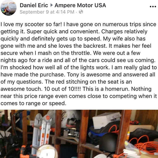 Daniel Zoom scooter review